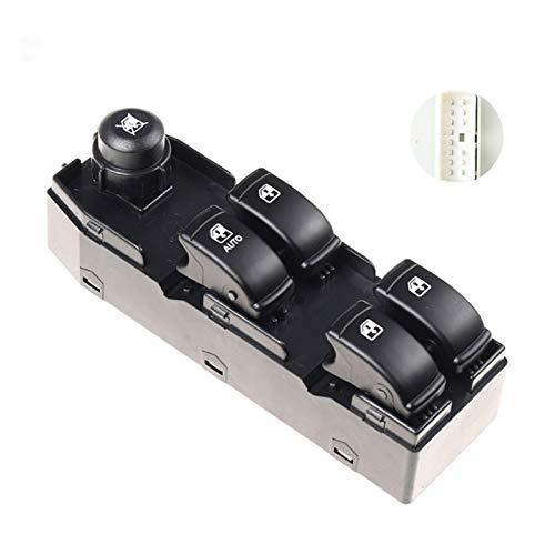 KUANGQIANWEI 96552814 93731921 ¡Nueva Botón del Interruptor de la Ventana Delantera Izquierda Ajuste para Chevrolet Optra Lacetti 2004-2007