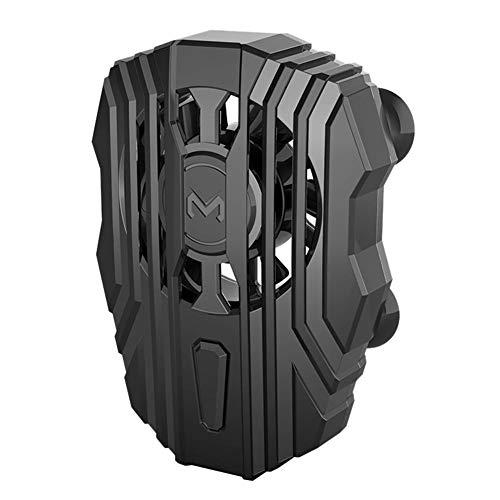 YIYIO Enfriador de TeléFono MóVil para XS MAX XS XR Radiador de TeléFono Silencioso Controlador PUBG Manija Ventilador de Enfriamiento de Luz LED para Accesorios