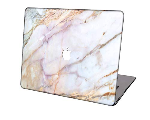 Laptop Case for MacBook Air 13 inch Model A1369/A466,Neo-wows Plastic Ultra Slim Light Hard Shell Cover Compatible MacBook Air 13 Inch No Touch ID,Marble 96