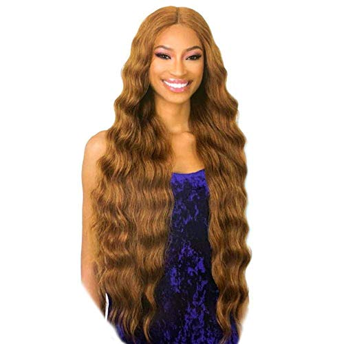 Shake N Go Organique Synthetic Lace Front Wig - HALO WAVE 32 (1 Jet Black)