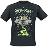 T-Shirt (Unisex-Xxl) Space (Black)