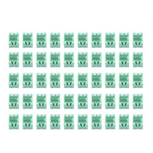 Caja de almacenamiento, 50 piezas Herramienta pequeña Objeto de tornillo Caja de almacenamiento de componentes electrónicos Caja de laboratorio SMT SMD Aparece automáticamente el contenedor de parches