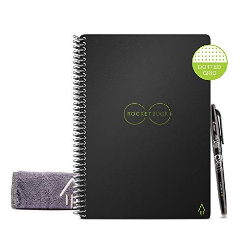 Rocketbook Everlast Smart - Cuaderno reutilizable, Negro, Esecutivo A5