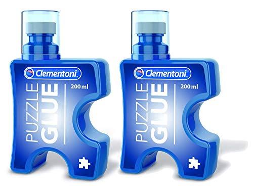 Outletdelocio Pack 2 Unidades Pegamento/Conserver Clementoni para Puzzles.