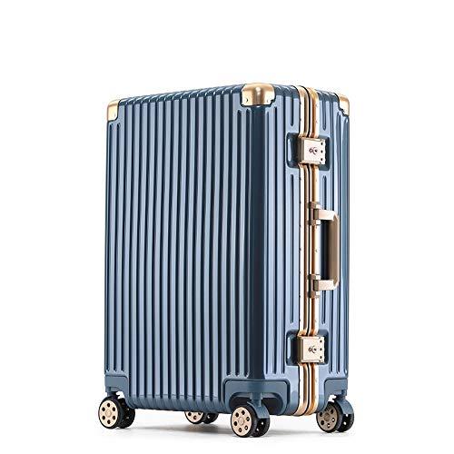 Trolley Box Universal Wheel frame aluminium koffer boten box 20 inch,  Rosa Roja (blauw) - gsdr5655220