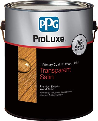 PPG ProLuxe 1 Primary R.E. Wood Finish, 1 Gallon, 077 Cedar