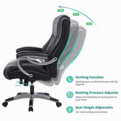 REFICCER Executive Office Chair 350 LB