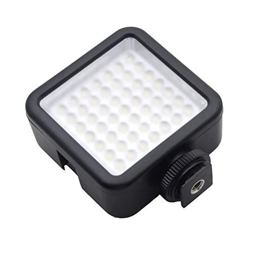 Uonlytech 49 LED 6000K Video Licht Fülllicht Fotografie Licht für DSLR-Kamera Camcorder Sportkamera für Hochzeitsnachrichten Interview Makrofotografie