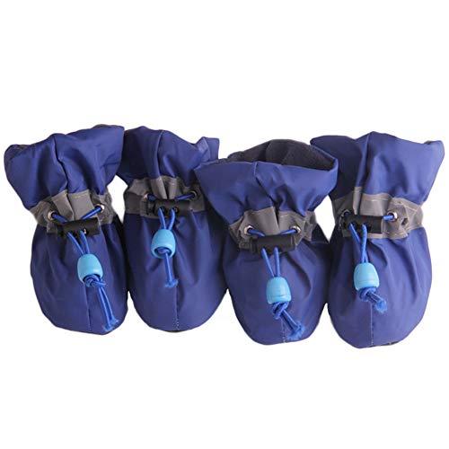 Feidaeu Winter Hund Schuhe für Kleine Hunde Chihuahua Yorkie Baumwolle Schuhe Warmer Schnee Baumwolle Hund Welpen Stiefel Hund Socke