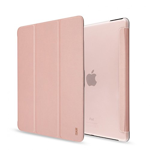 Artwizz 0012-1766 SmartJacket Etui für Apple iPad Pro (9,7 Zoll) - Schutz-Hülle im Metall-Look mit Frontcover, Rückseitenschutz und geschmeidigen Grip - Designed in Berlin - Rosegold