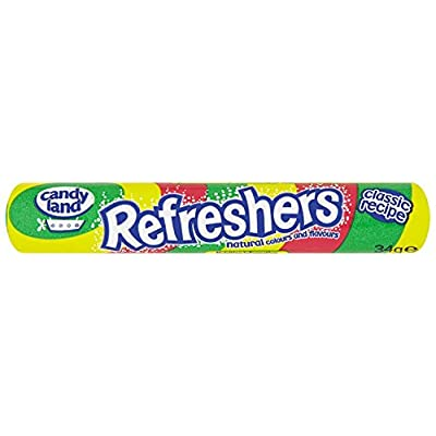 barratts refreshers fruity flavour fizzy sweets 34.2 g (pack of 48) Barratts Refreshers Fruity Flavour Fizzy Sweets 34.2 g (Pack of 48) 41pNk0NXB4L