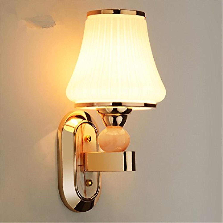 Lucky Fortress Wandleuchte Nachttischlampe Schlafzimmerwandlampe Wohnzimmerlampe mit Schalter Wandlampe Gangwandlampe Schlafzimmerlampe Wandlampe