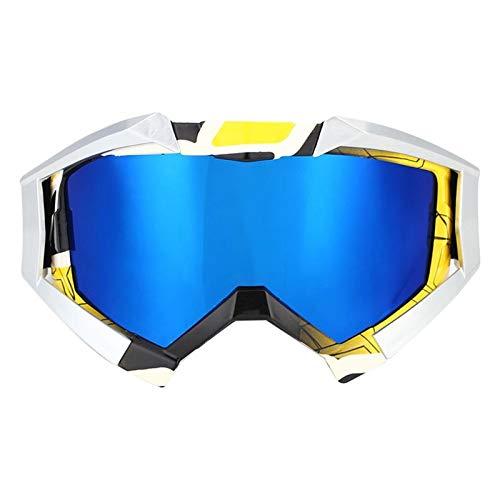 MissLi Gafas De Esquí con Doble Anti-Lente, Gafas De Esquí, Gafas De Esquí Y Gafas De Sol (Color : A)