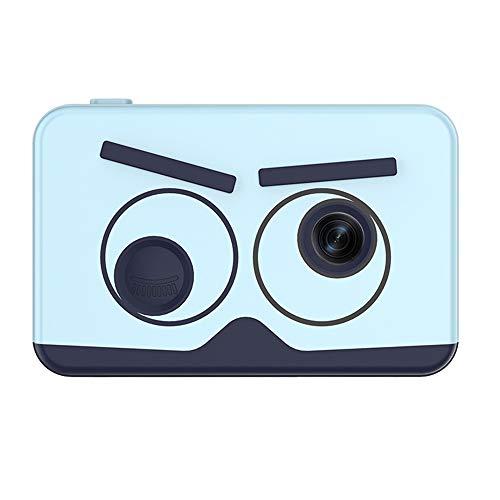 Zwbfu Cámara para niños explosiva Mini Juguete pequeño SLR HD cámara Digital con Enfoque automático Ventas directas de fábrica Cámara Dual HD Azul