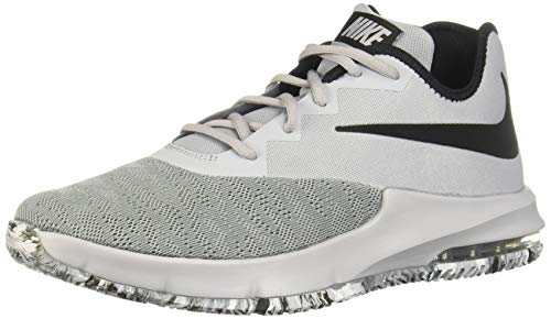 Nike Herren Air Max Infuriate Iii Low Basketballschuhe, Mehrfarbig (Wolf Grey/Black/Cool Grey 4), 40.5 EU