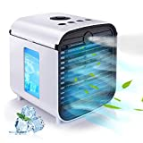Hisome Portable Air Cooler, 5 in 1 Small Air Conditioner...