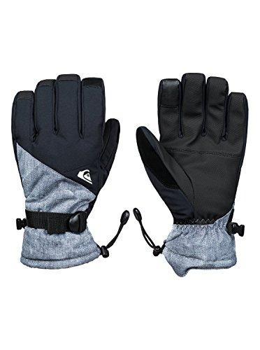 Quiksilver Mission Gants de Ski/Snowboard Homme Grey_Simple Texture FR : XL (Taille Fabricant : XL)