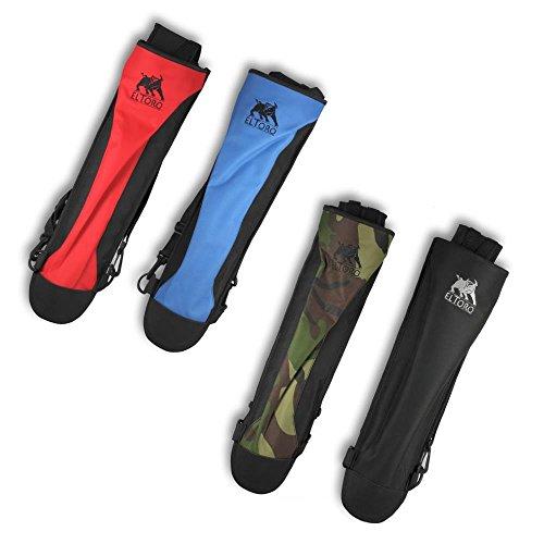 elToro Rückenköcher Back Pack (schwarz); aus wasserabweisendem Nylon, Zubehör für Pfeil und Bogen, Bogenschießen