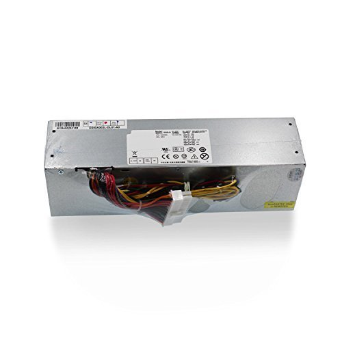 Mackertop 240W Desktop Power Supply Unit PSU Replacement for Dell OptiPlex 390 790 990 3010 7010 9010 (Small Form Factor) SFF Systems H240AS-00 AC240AS-00 L240AS-00 AC240ES-00 H240ES-00 Series