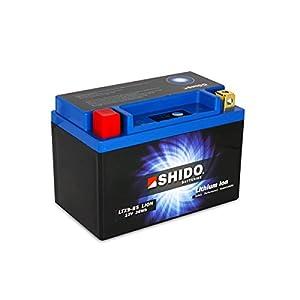 SHIDO LTX9-BS LION -S- Batería de ion de litio, color azul