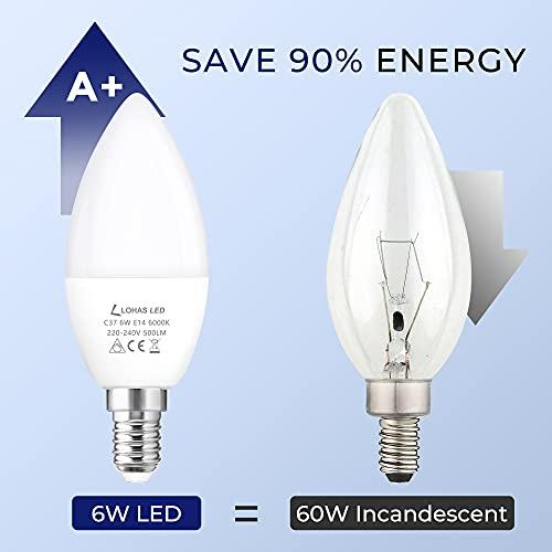 LOHAS-LED LH-LZ088D-E14-6000K-3
