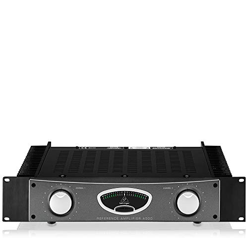Behringer A500 Professional 600-Watt Reference-Class Studio Power Amplifier