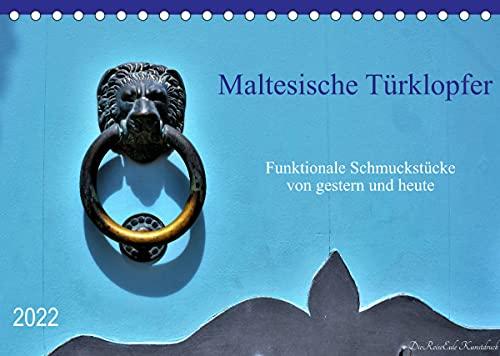 Maltesische Türklopfer (Tischkalender 2022 DIN A5 quer)