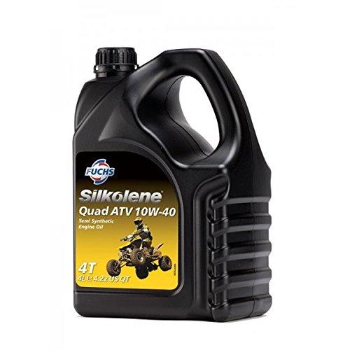 Aceite Quad ATV 10W-40para todo tipo de motocicletas (4 l), de Silkolene