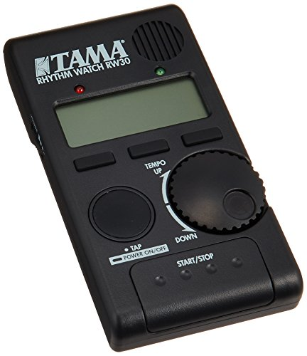 Tama RW30 Rhythm Watch Mini Metronom/Drumcomputer mit beleuchtetem LCD Display