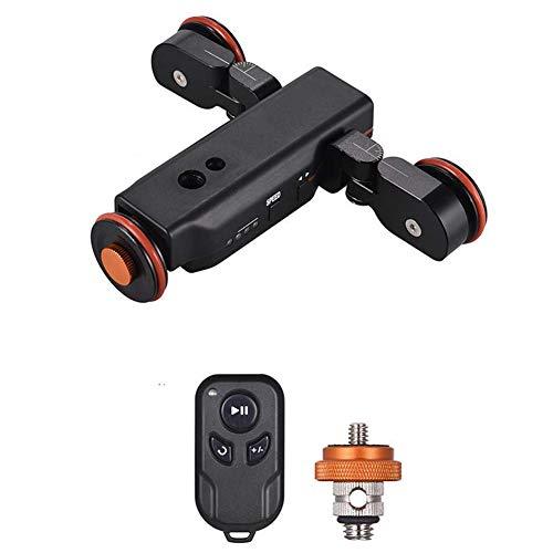 キヤノンニコンソニーDSLRカメラiOSスマートフォン用電動カメラビデオドリー、方向スケール付き、ワイヤレスリモートコントロール3速度調整可能