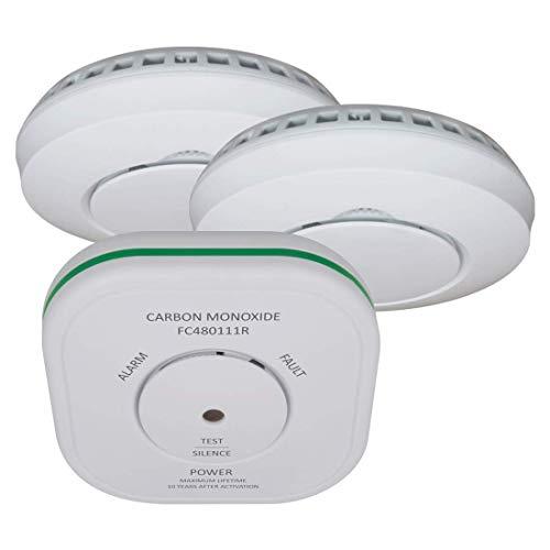 ELRO Connects FF5048R Combi pakket - Koppelbare Koolmonoxidemelder en 2 Rookmelders