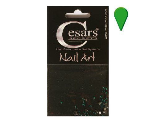 Cesars Nail Art Tear Drops vert