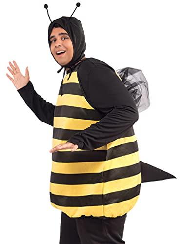 Forum Novelties Bumble Bee Costume Black/Yellow, Medium