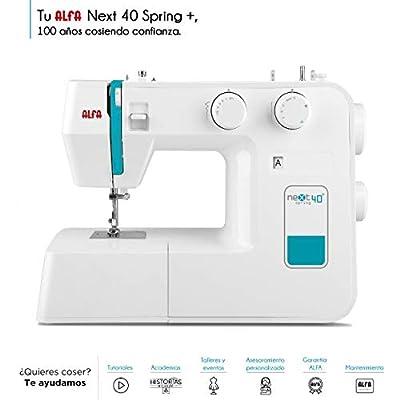 Alfa NEXT 40 - Máquina de coser con 25 puntadas