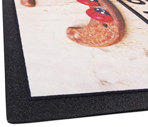 emmevi Format Print 5 Paillasson en caoutchouc 40 x 70 cm en