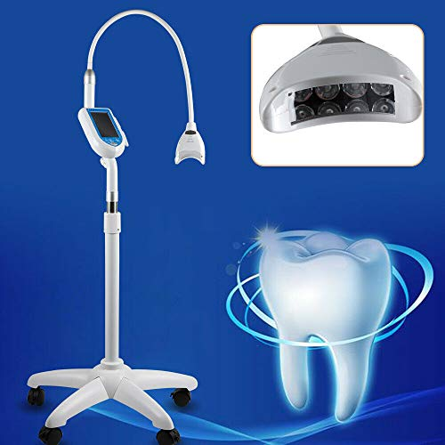 Zahnaufhellung LED Zahnweiß Bleaching Lampe Accelerator Teeth Whitening Light Teeth Whitening Kit,Zahnaufhellung Set,Professionelle Zahnaufhellung Set zu Hause