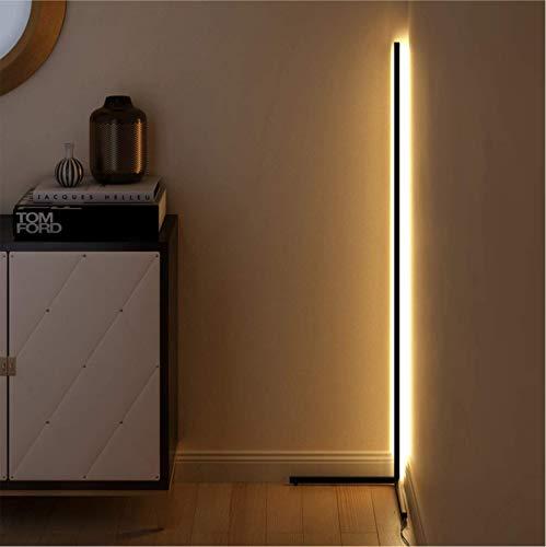 R&P 3 Farbtemperaturen stehlampe led dimmbar LED Stehlampe 20W Leselicht für Wohnzimmer mit Fernbedienung für Schlafzimmer Wohnzimmer Büro, 55 in,Weiß