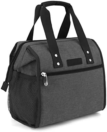 Lunch Bag Insulated Lunch Bag for Women Men and Kids Reusable Wide Open Lunch Tote Bag Portable product image