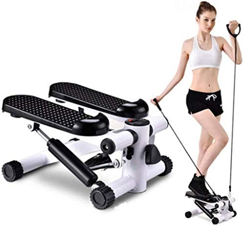 Uitgerust met een stille loopband Home Mini Afvallen Multifunctionele pedaal Fitnessapparatuur Steppers(Upgrade)