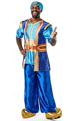 Rubie's officiële Disney Live Action Aladdin, Genie Heren Fancy Kostuum
