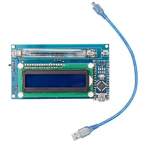Baugger Diy Geigerzähler kit - Zusammengebauter Diy Geigerzähler kit Modul Kernstrahlungsdetektor mit Lcd Display