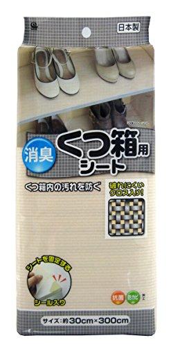 ワイズ 消臭 くつ箱用シート 約30×300cm SS-885