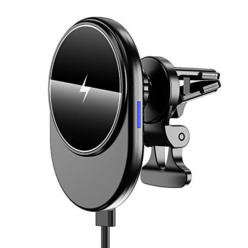 Cargador Inalámbrico Magnético Para Coche - Magnetic 15W Car Wireless Fast Charger - Adecuado Para la Serie Iphone 12