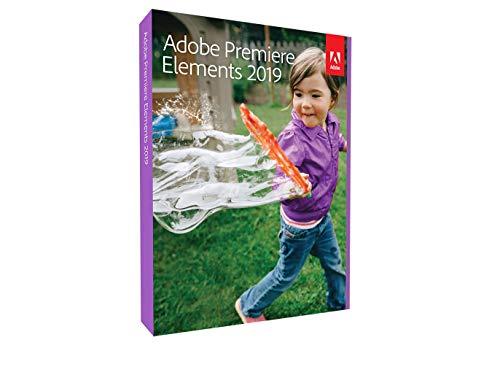 Adobe Premiere Elements 2019 | Mise à jour - Anglais | PC/Mac | Disque