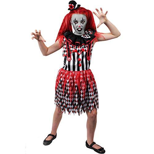 B-Creative Disfraz infantil para asesino (pequeo 4-6 aos) (disfraz y sombrero)