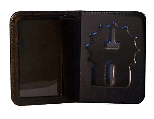 Badge and ID Case for NY City Police Detective (Cutout PF225)