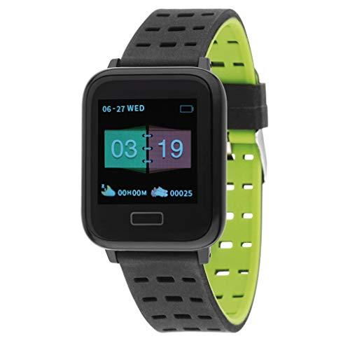 Nowley Reloj Digital smartwatch Smart Bracelet Verde