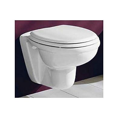 Foto di Sanitari bagno vaso wc water sospeso, compreso di coprivaso, Karla Rak, ceramica bianca