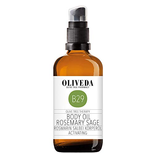 Oliveda Körperöl Rosmarin Salbei - Activating, 100 ml