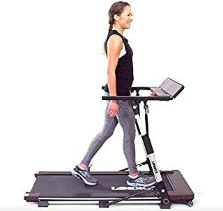 Landice M1 Folding Treadmill for The Home   Low Profile Compact Easy Storage   3 Second Flat-to-Ready   USB Charger + Speakers
